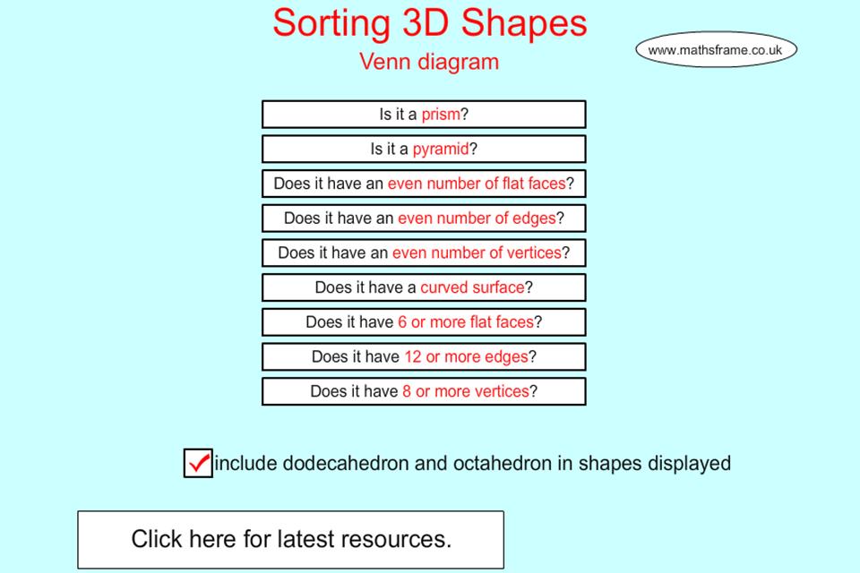 sorting 3d shapes venn diagram download