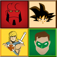 A Super Hero Photo Quiz! ~ Famous Movie, Comic, Manga & Anime Heroes Name Guessing Game for Kidz